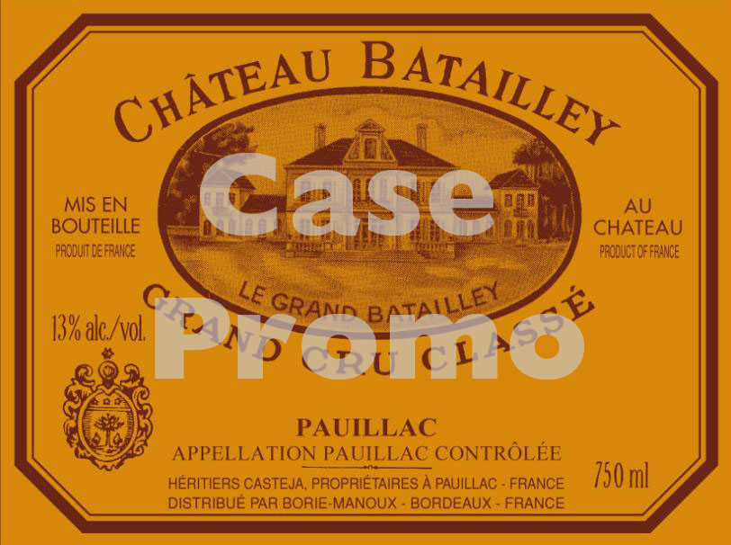 Chateau Batailley 2006 (case promo)