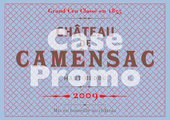Chateau Camensac (case promo)