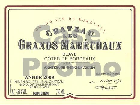 Chateau Les Grands Marechaux (case promo)