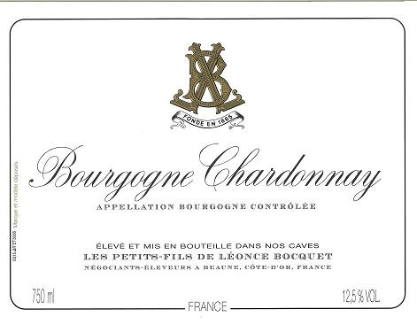 Bourgogne Chardonnay Leonce Bocquet