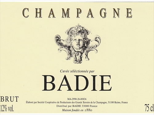 Champagne Brut Badie