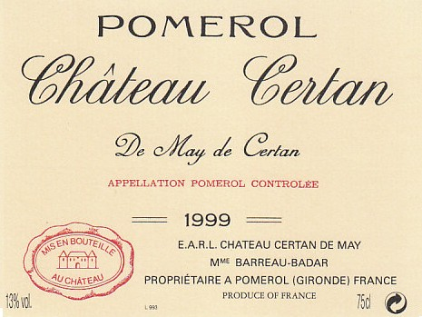 Chateau Certan de May