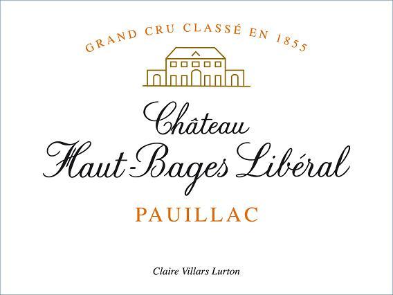Chateau Haut Bages Liberal