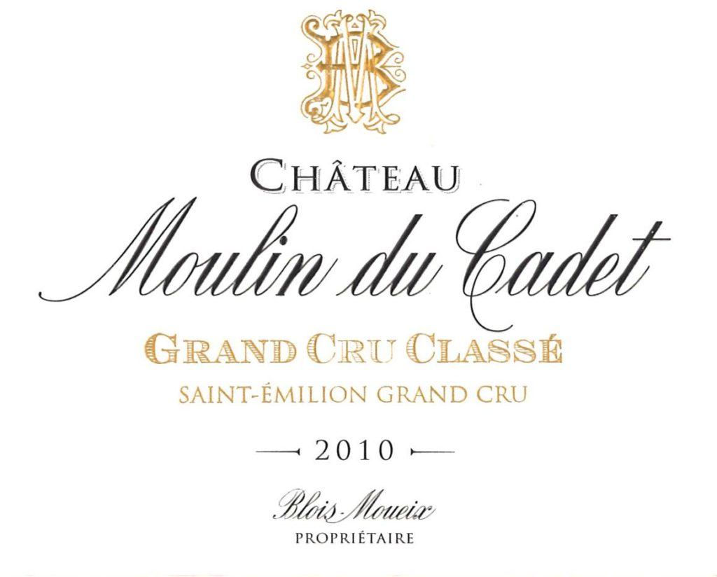 Chateau Moulin du Cadet