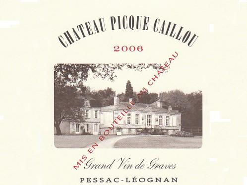 Chateau Picque Caillou Rouge