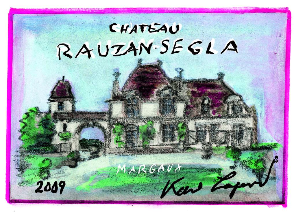 Chateau Rauzan Segla Karl Lagerfeld Label