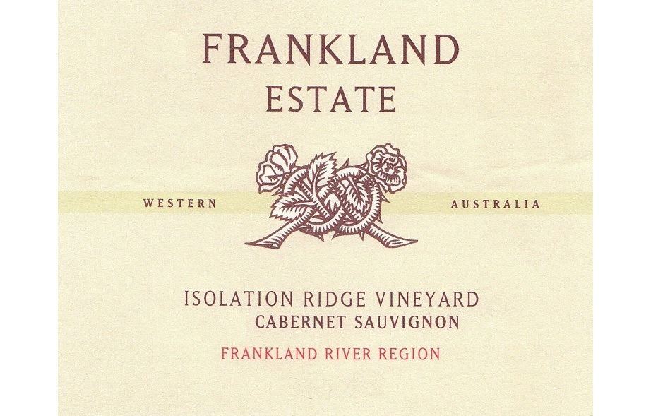 Isolation Ridge Cabernet Sauvignon Frankland Estate
