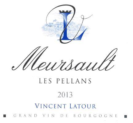 Meursault Les Pellans Vincent Latour
