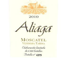 Moscatel Vina Aliaga (500 mL)