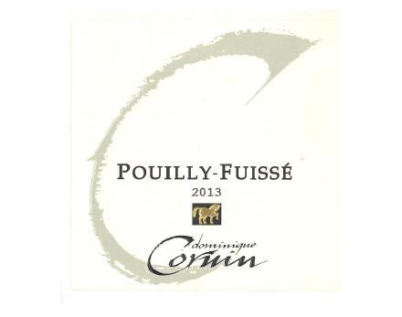 Pouilly Fuisse Dominique Cornin