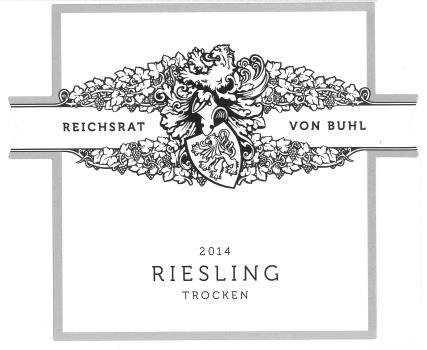 Reichsrat Von Buhl Riesling QbA Trocken Dry