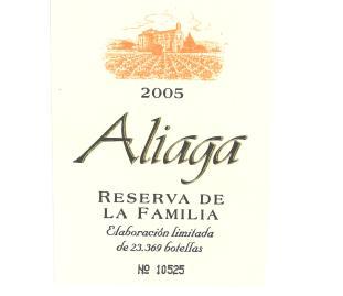 Reserva De La Familia Vina Aliaga
