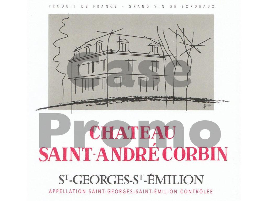 Chateau Saint Andre Corbin (case promo)