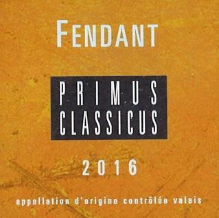 Fendant Primus Classicus Caves Orsat